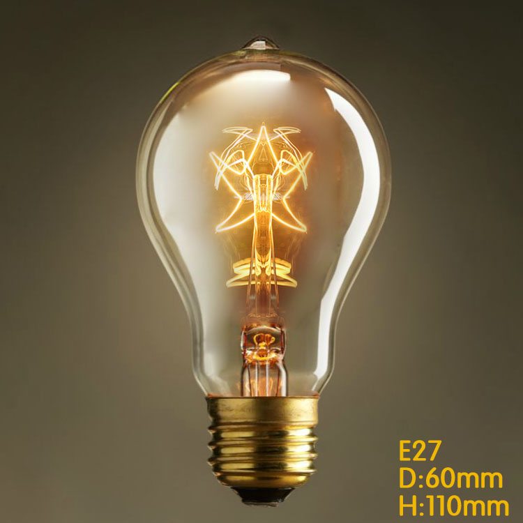 Гаджет  Free shipping one sample of A19 star filament old style edison filament bulbs 1900s vintage decorative indoor lightbulbs None Свет и освещение