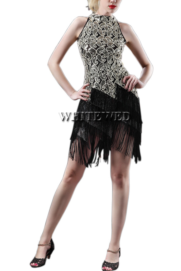 Popular  Party Dress For Women Sexy Fashion Deco Gatsby Picture In Dresses From