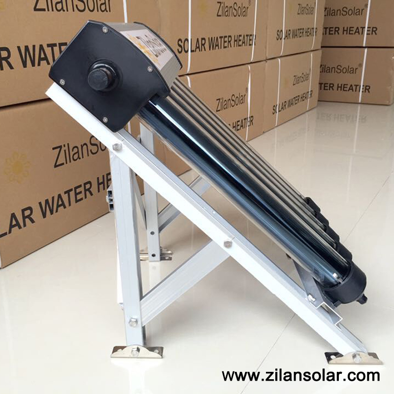 Small heat pipe solar collector 5tubes for heating 20liters water(China (Mainland))