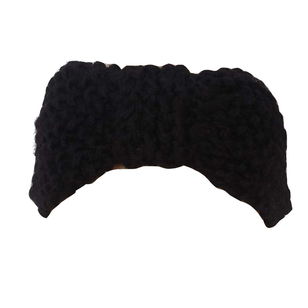 Crochet Bow Headband Hair Band Knitted Headwrap Winter Hat(China (Mainland))