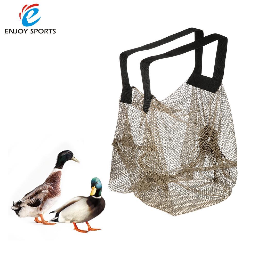 2PCS Mesh Decoy Bag Bundle Duck Turkey Goose Decoy Bag Dark Green 75 * 75cm Hunting Accessories Duck Turkey Goose(China (Mainland))