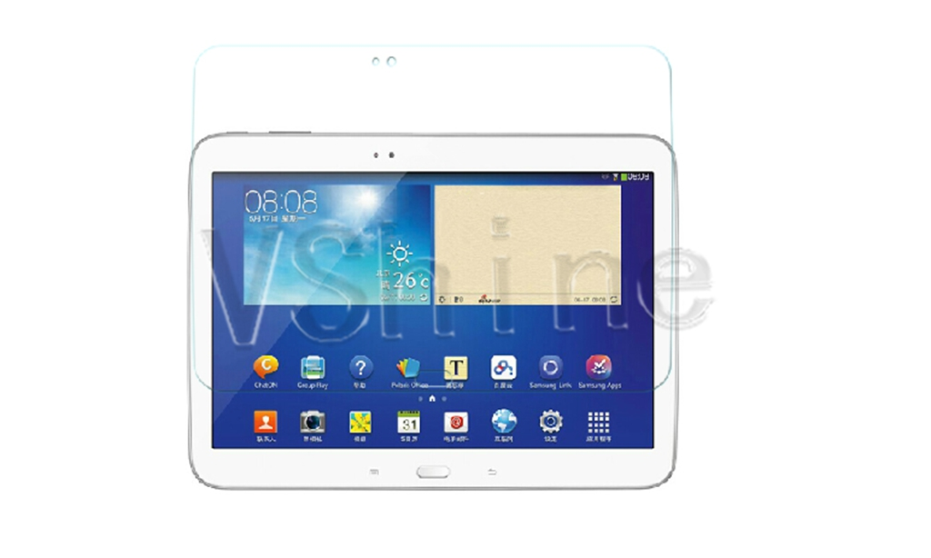Гаджет  Tempered Glass Film For Samsung Galaxy Tab 3 10.1 P5200 P5210 P5220 Screen Protector None Компьютер & сеть