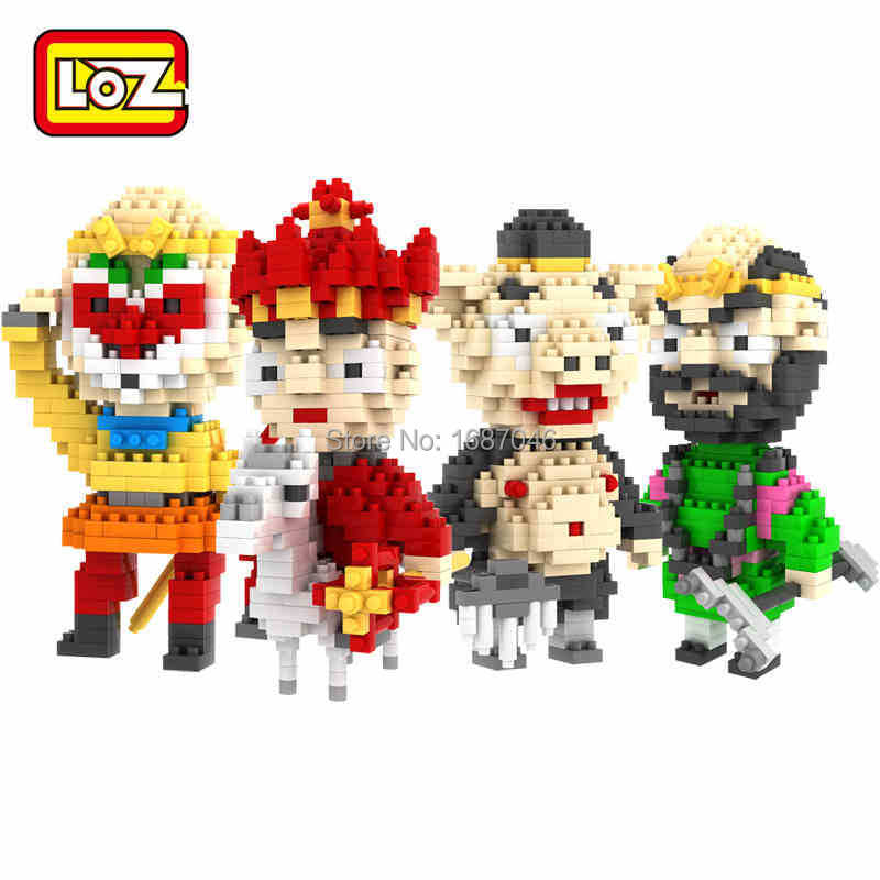 One piece 2015 New LOZ Minifigure Diamond Bricks Building Blocks Journey West Educational Toys Perfect Gift Children - TOUCH Toy Co.,Ltd store