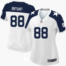 Dallas Cowboys Jason Witten Troy Aikman Tony Romo Cole Beasley Emmitt Smith DAK PRESCOTT Dez Bryant Ezekiel Elliott For women(China (Mainland))