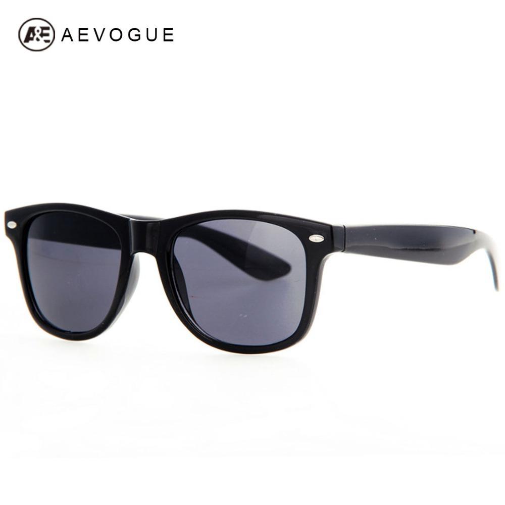 Retail AEVOGUE Women 80s Retro Designer wayfarer sunglasses men High Quality With Colorful Styles Unisex glasses