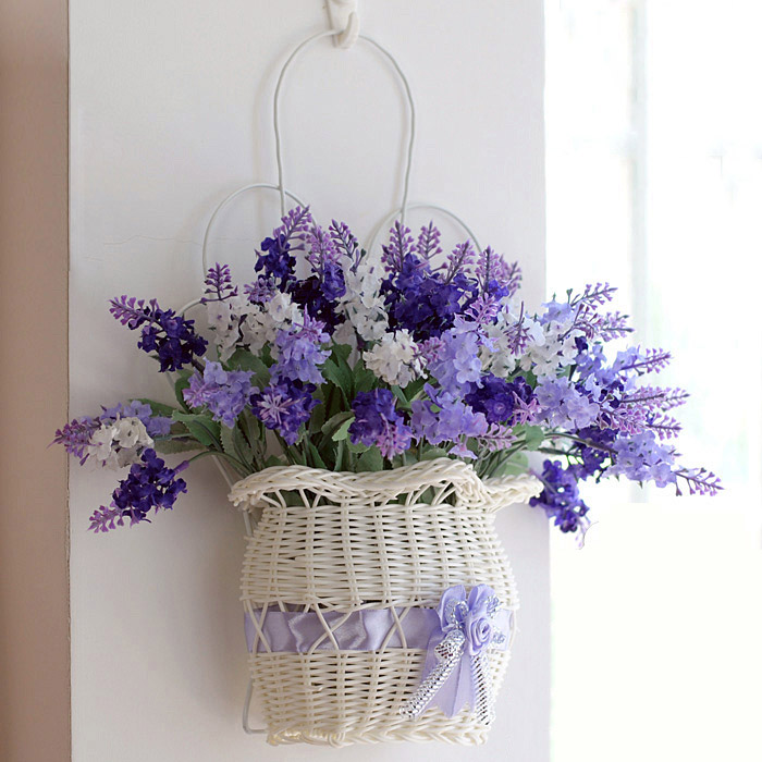 Artificial Flower Baskets Online : Buy wholesale artificial hanging baskets from china