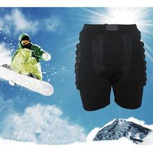 Free Shipping Black Kids Adult Man Woman Protective Hip Butt Pad Pants Ski Skate Snowboard Size M L XL XXL XXXL(China (Mainland))