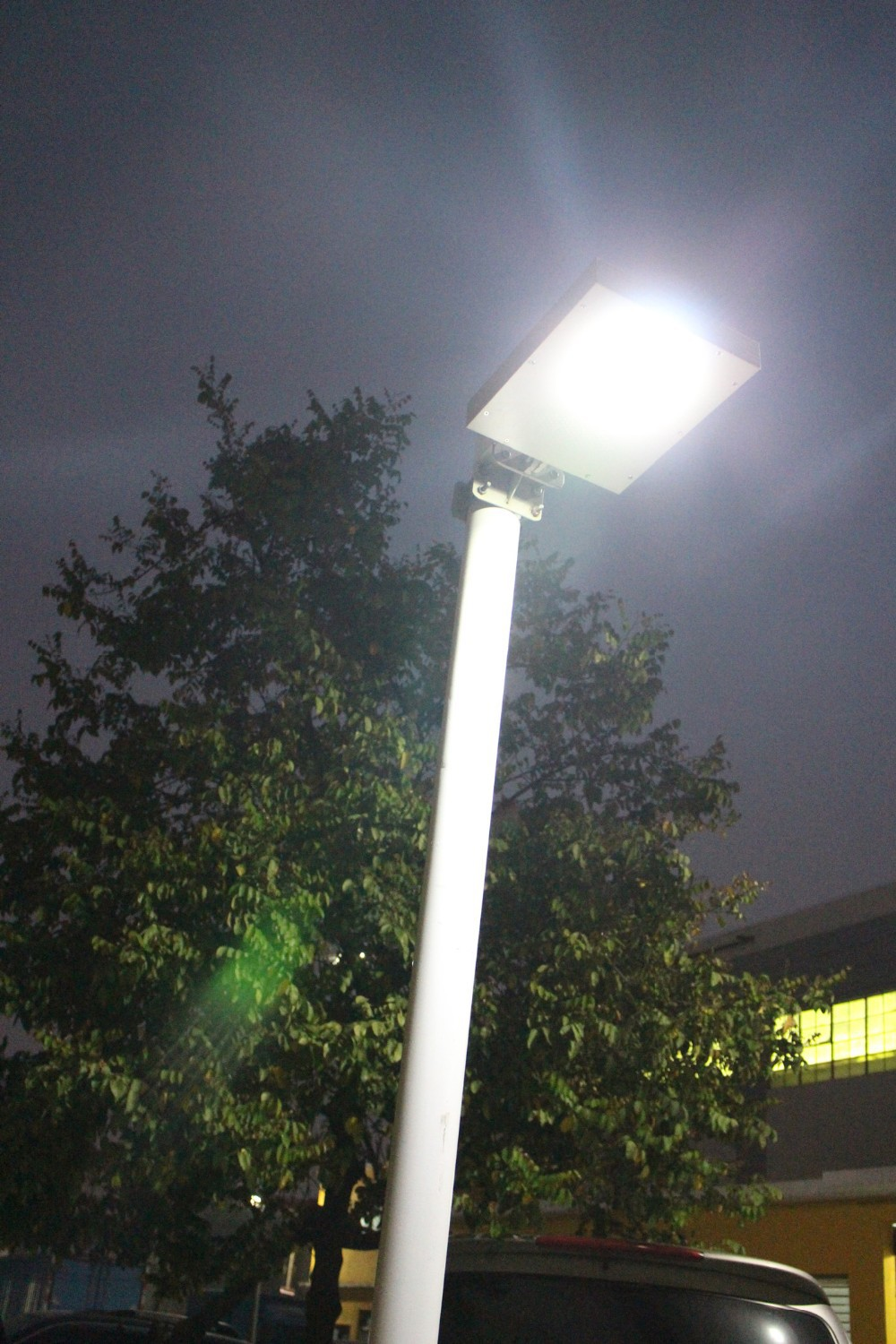 10W Solar LED Street Lights with All In One Integrated Solar Garden Lighting LED Street Light(China (Mainland))