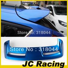 ABS Blue Painted ST Style Rear Trunk Spoiler, Car Boot Lips Ford Focus 12-13 (Fits Hatchback ) - JC Racing Accessories store
