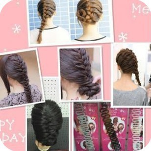 Free Shipping French 2015 Hair braider Hair Accessory Fashion Hair Device hair accessories Hairstyle Tools (OH0076)