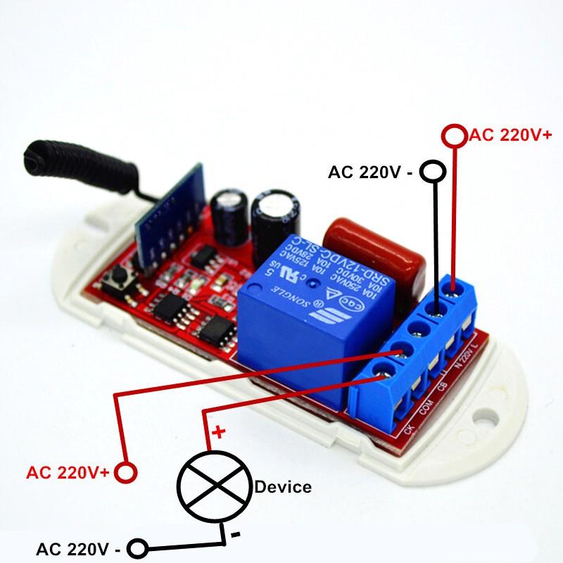 433mhz REMOTE module