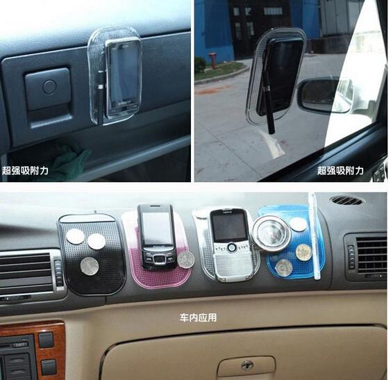 Hot Sale Super Silica Multicolor Gel Magic Sticky Pad Anti Slip Mat Phone PDA mp3 mp4