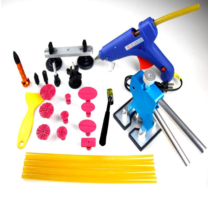 Здесь можно купить  Wholesale high quality 31pcs/sets paintless dent repair Tools for car Blue PDR Tools  Инструменты