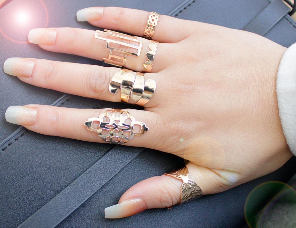 Стильные кольца для девушек