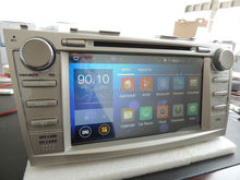"""""""YOKOTRON"""" 8""""Touch  Android 4.4 Car Audio Radio DVD for Toyota Camry Aurion Altise Sportivo 2007 2008 2009 2010 2011+GPS+Navi(China (Mainland))"""