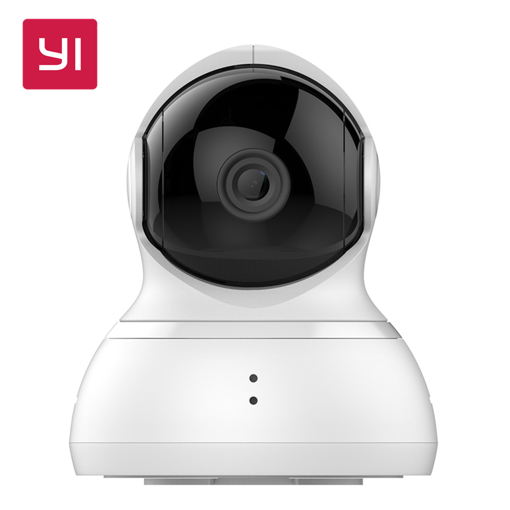 YI Dome Camera Pan/Tilt/Zoom Wireless IP Security Surveillance System HD 720p Night Vision (US ...