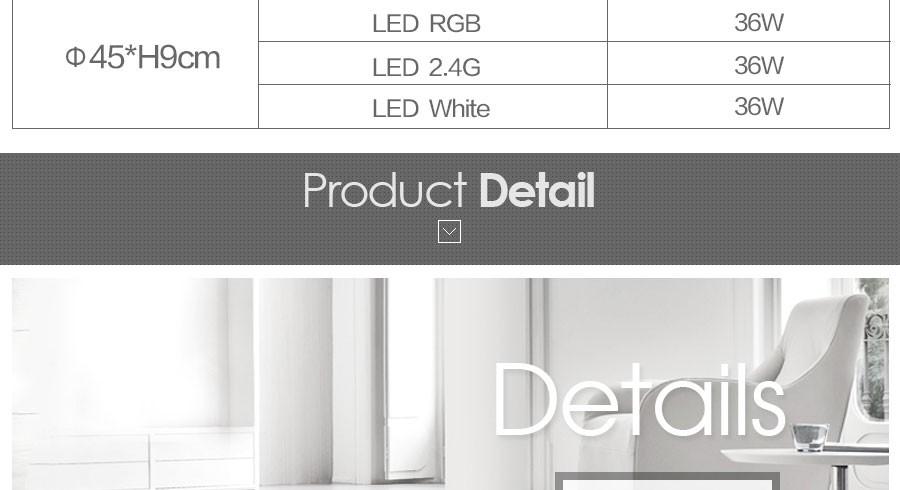 Купить Вел Круглый Спальня Балкон Потолочные Светильники Простота Современные Светодиодные Потолочные Светильники Для Гостиной RGB Потолочный Светильник