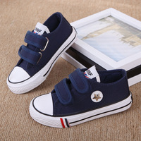 Kids Canvas Shoes boys and girls breathable canvas shoes candy-colored children's classic casual sneakers