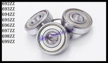 Buy 10pcs/Lot 694ZZ 694 ZZ 4x11x4mm Mini Ball Bearing Miniature Bearing Deep Groove Ball Bearing Brand New for $4.08 in AliExpress store