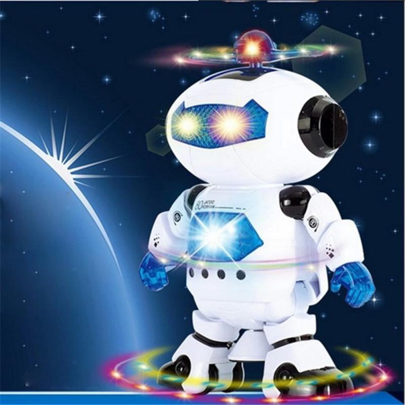 [해외]전기 스마트 공간 로봇 어린이 키즈 음악 빛 장난감 A79 춤 ..