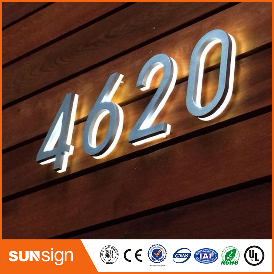Custom Top Quality Bright House Number Light In Electronic