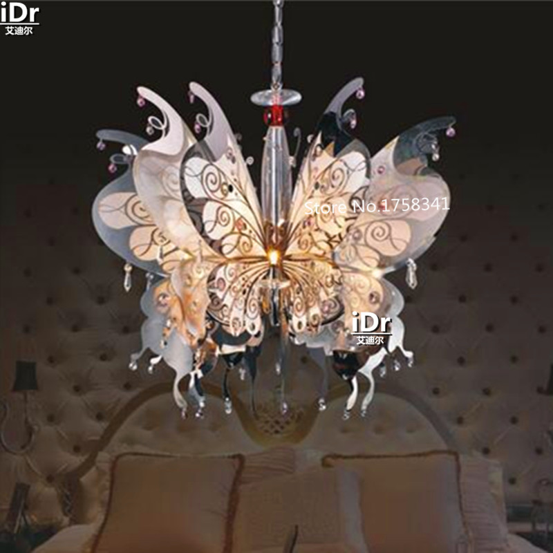 popular butterfly chandelier buy cheap butterfly chandelier lots from china butterfly chandelier. Black Bedroom Furniture Sets. Home Design Ideas