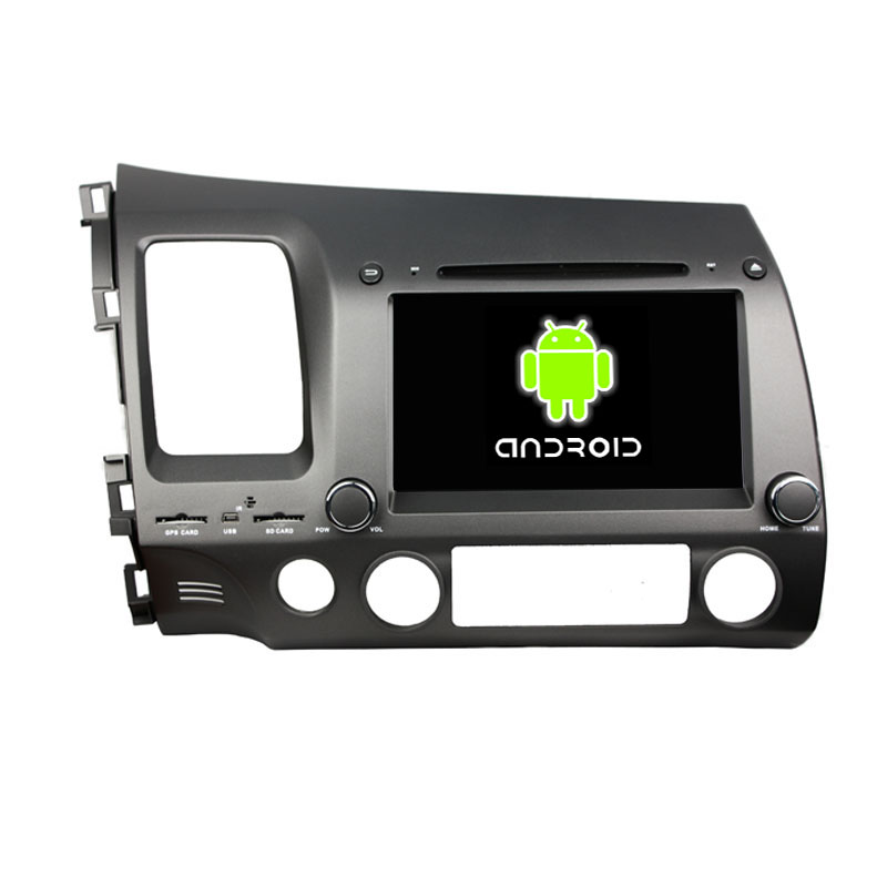 ROM 16G Quad Core 1024*600 Android 5.1.1 Fit HONDA Civic 2006 - 2010 2011 2012 Car DVD Player Navigation GPS Radio Bluetooth(China (Mainland))