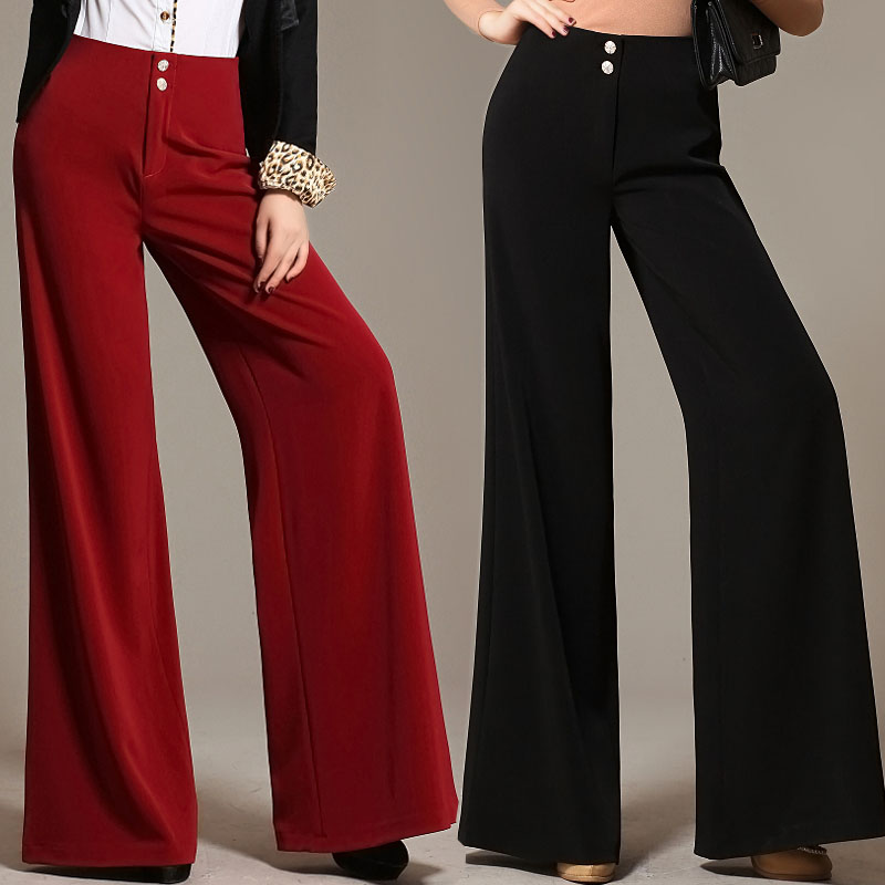 high waisted wide leg pants page 28 - plus-size