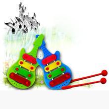 Modern Baby Child Kid 4-Note Xylophone Musical Toys Wisdom Development Serinette Feb26(China (Mainland))