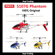 Original Syma S107G S107 3.5CH RC flying toy gyro Radio Control Metal alloy fuselage R/C Helicoptero Mini Co-Axial copter toy(China (Mainland))