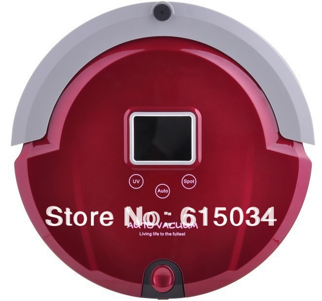 (Free Shipping For Australia Buyer)4 In1 Multifunctional Robot Vacuum Cleaner LCD ScreenTouch Button,Schedule(China (Mainland))