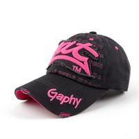 Free Shipping New Arrival 2015 Fashion Hot Sale Cotton Baseball Cap Viscose For Women Girls H1