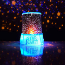 LED colorful light Starry Night Sky Projector Colorful LED Night Light AC DC LED LAMP