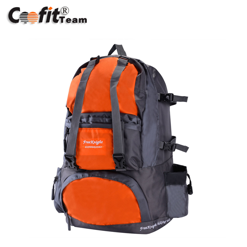 New Hot Leisure Sports Student Nylon Backpacks Large Travel Gear Camping Hiking for Men With Waterproof Wear-Resisting