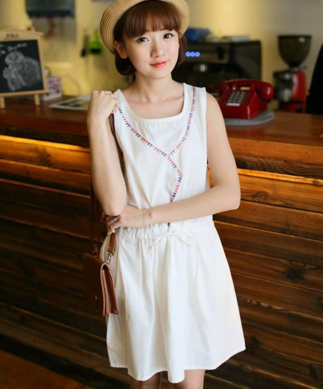 Buy cute dress denim women sn581641 for Denim wedding dresses for sale