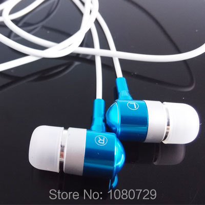 Metal In-Ear Headset Earphones for iPod Touch iPhone MP3 Earbuds Earpods(China (Mainland))