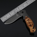 Jeslon Browning X50 Multifunction Tactical Folding Mini Pocket Knife Steel Blade Survival Exquisite Huntting Knives Wood