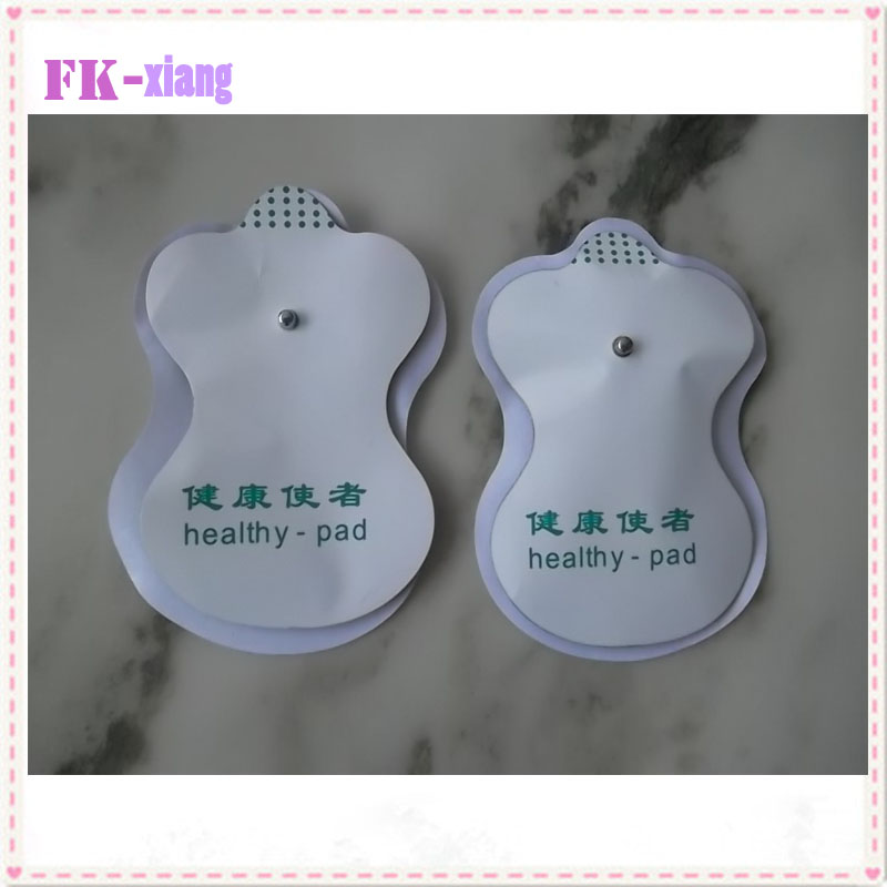 20pcs White Electrode Pads For Tens Acupuncture Digital Therapy Machine Massager Tools.Beauty Body Care White Electrode Pads(China (Mainland))