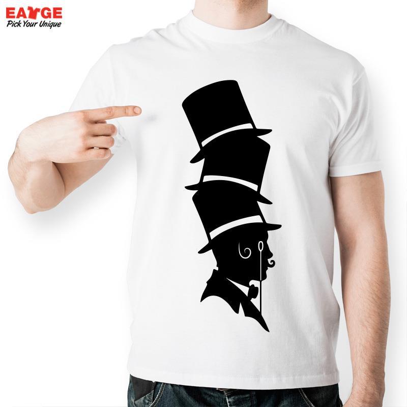 Magician Hats T Shirt Inspired By Wizard Geek T-shirt Fashion Novelty Cool Funny Casual Tshirt Men Women Design Printed Tee(China (Mainland))
