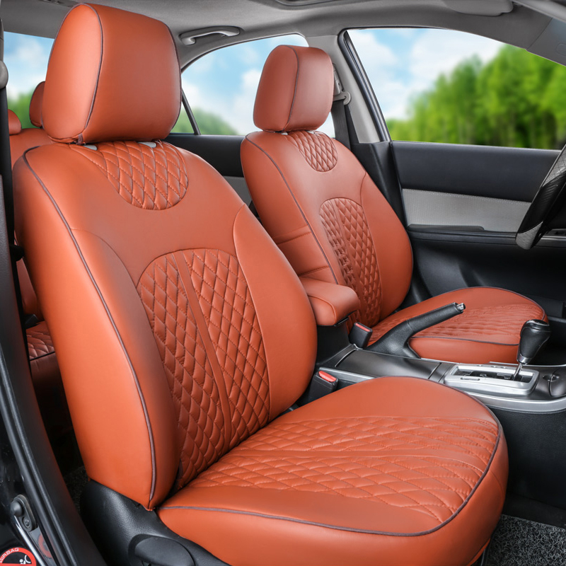 PU leather seat covers for hyundai veloster car seat cover set front&rear complete cover seats protector car seat cushion covers(China (Mainland))