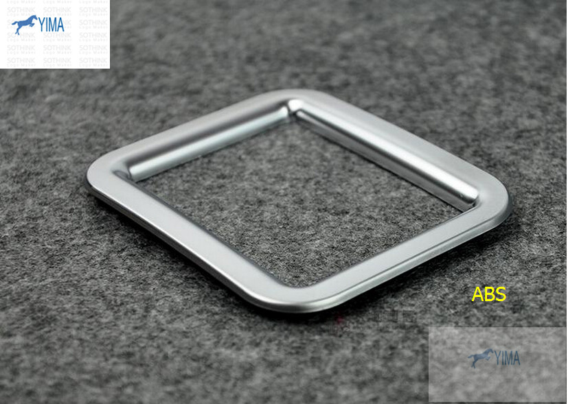 Chrome Central Storage Box Frame Cover Trim 1pcs For Volkswagen Beetle 2013-2015(China (Mainland))