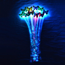 New Club party Toys Novelty Led Hairpin Concert Festival Party Hair Accessories 35Cm(China (Mainland))