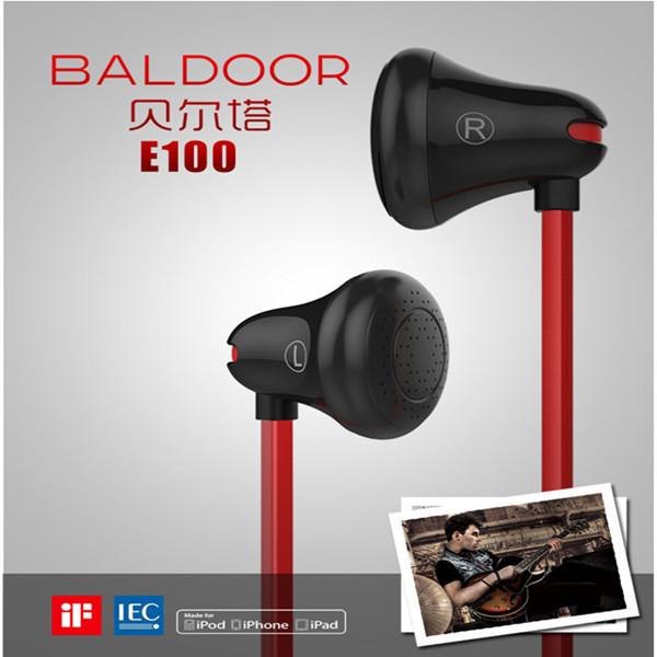 Mrice Baldoor E100 In-ear Earbud Earphones Headphone For iPhone Smartphone(China (Mainland))