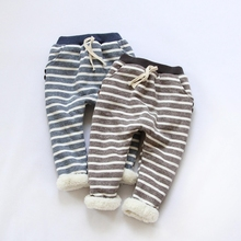 fashion children pants thick winter warm cashmere boys pant kids trousers size 1Y-7Y retail(China (Mainland))