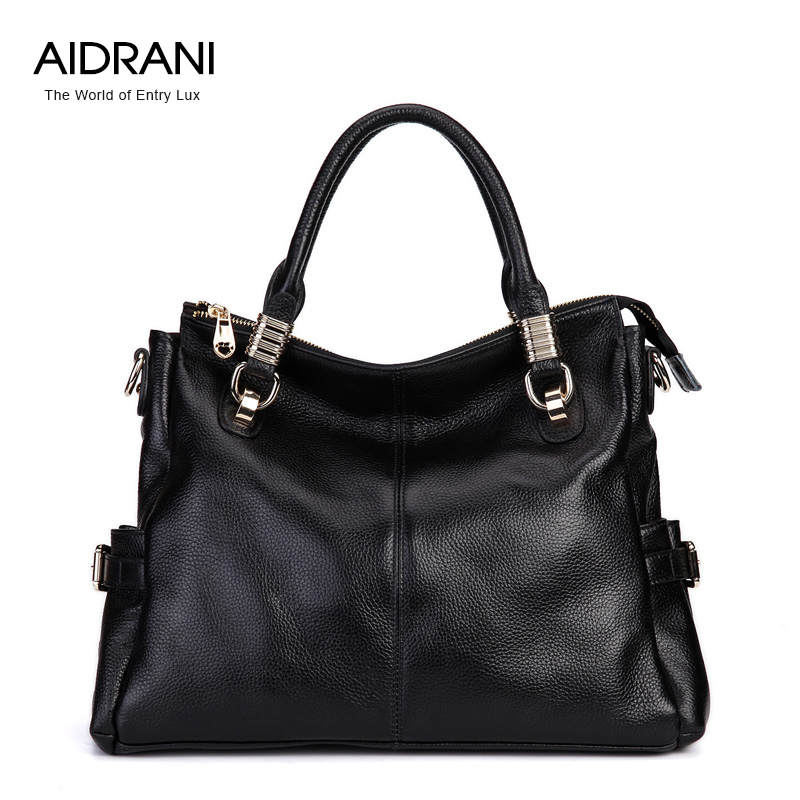 Aidrani womens spring genuine leather handbag Genuine Leather Bag Cowhide Shoulder Casual Women Messenger bags fashion handbag<br><br>Aliexpress