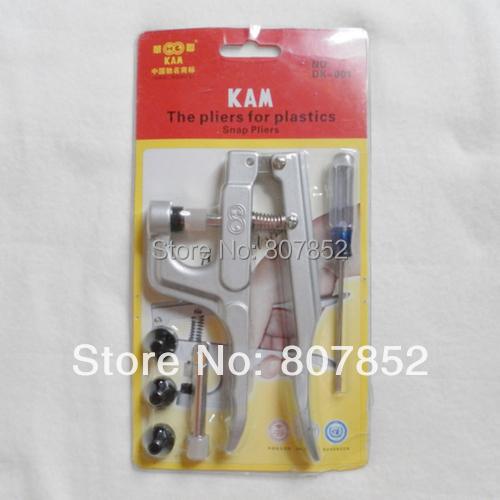 Гаджет  DHL free shipping, 10pcs KAM Brand Plastic Snap Button Plier, Snap Fastener Plier DK-001, Snap Tool None Инструменты