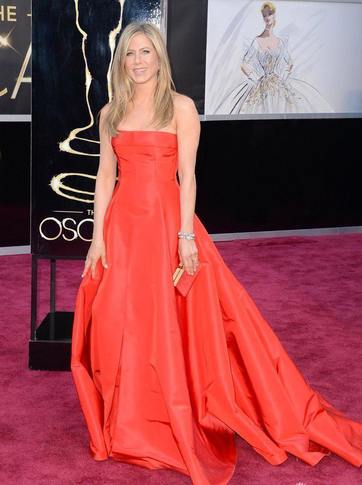 Jennifer Aniston Dress 2013 Oscar Red Carpet Dress ...