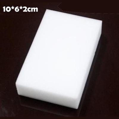 10pcs/lot Most Popular Magic Sponge 100*60*20mm Eraser Multi-functional Cleaning Melamine Sponge White(China (Mainland))