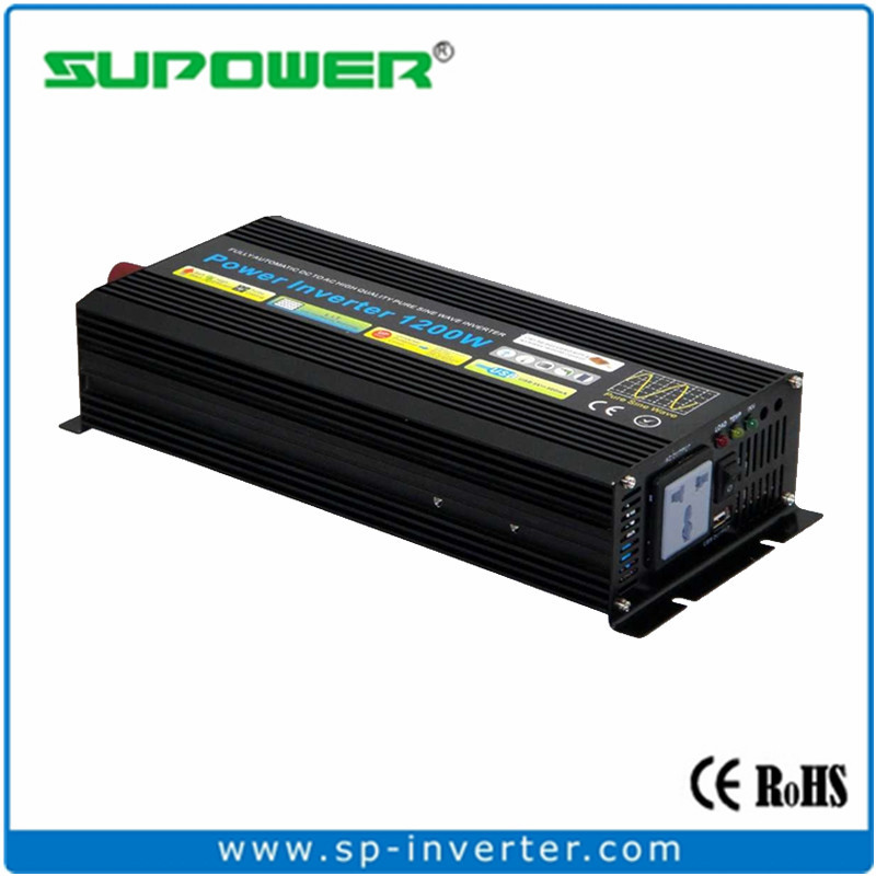 FREE SHIPPING Pure Sine wave off grid Solar system Inverter 1200w Wind/Car Power converter(China (Mainland))