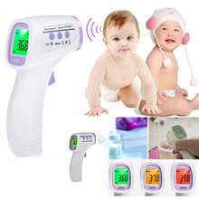 1pc Baby/Adult Digital Multi-Function Non-contact Infrared Forehead Body Thermometer gun Hot Worldwide